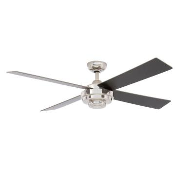 Kemper II 52 in. Liquid Nickel Ceiling Fan